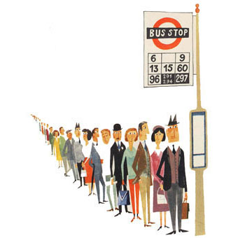 bus-queue
