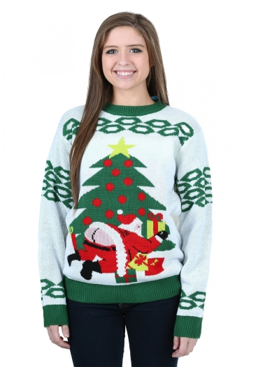 Butt Crack Santa Ugly Christmas Sweater intended for Plus Size Christmas Sweater - Awswallpapershd.com